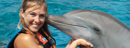 Isla Mujeres - Dolphin Encounter